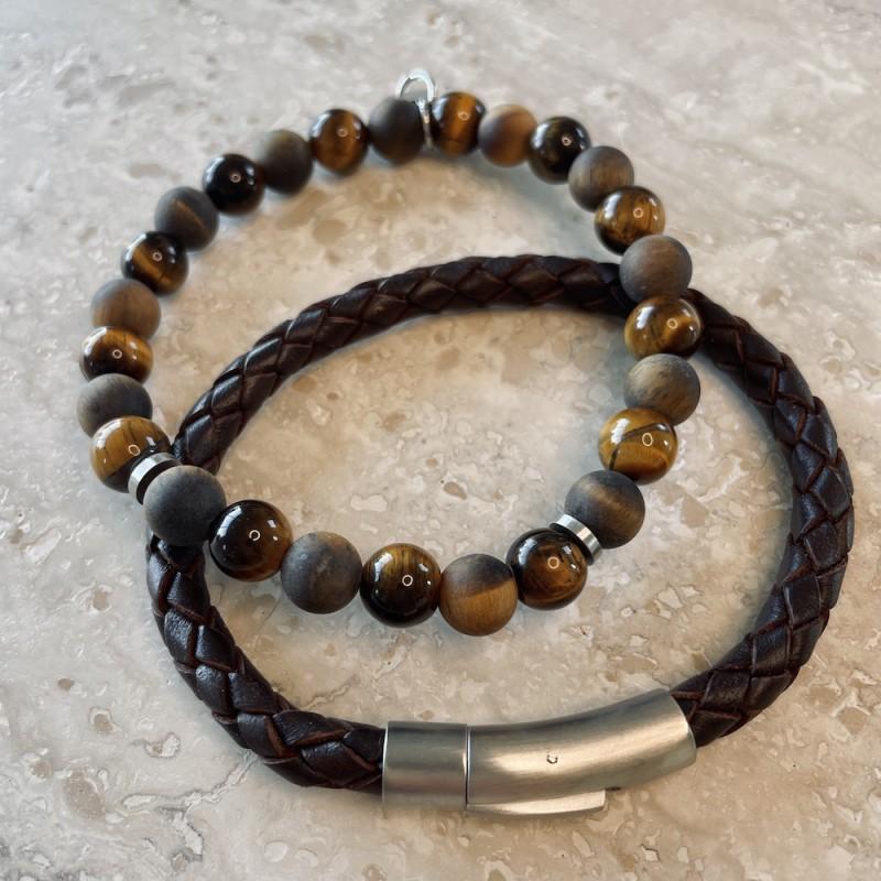 Gift set - Armband Tiger Eye