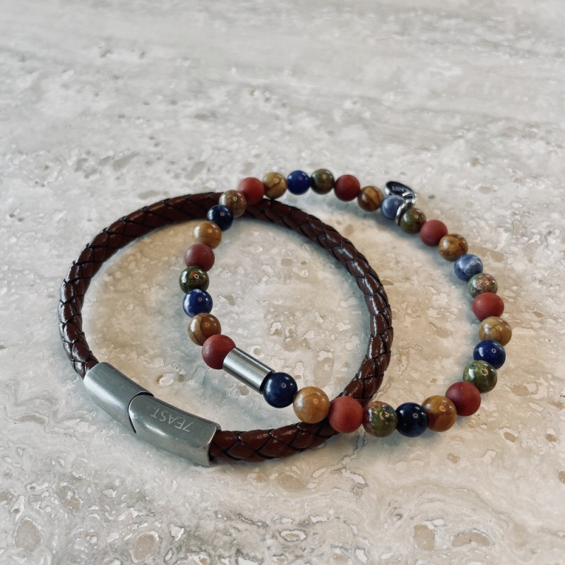 Gift Set - Armband Terracotta